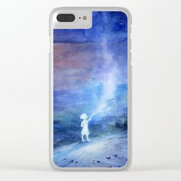 little spirit of the steppe Clear iPhone Case