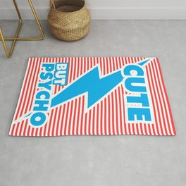 Cute But Psycho (version 2) Rug