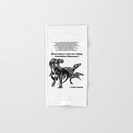 Conclusion: Dinosaurs [Black] Hand & Bath Towel