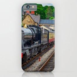 Steam Locomotive Wales iPhone Case