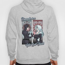 Diamond are a Girl's Best Friend Hoody