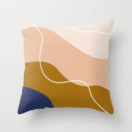 modern chic pattern Throw Pillow