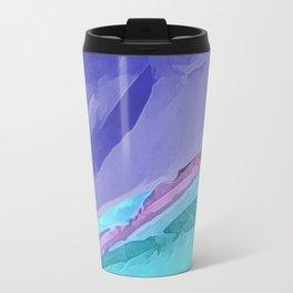 Silky Pastel Waves Travel Mug
