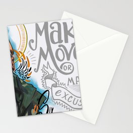 Make Moves Stationery Cards