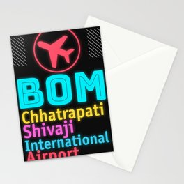 BOM Chhatrapati Shivaji International Airport Stationery Cards