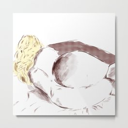 Slightly suggestive secondBirth Metal Print