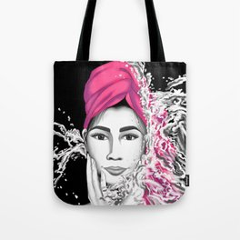 Wash Away the Day, Not the Brows Tote Bag
