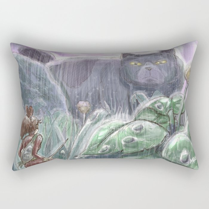 Arrietty and the Colossus Rectangular Pillow