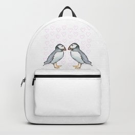 Puffin's Valentine  Backpack