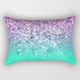 Spark Variations III Rectangular Pillow