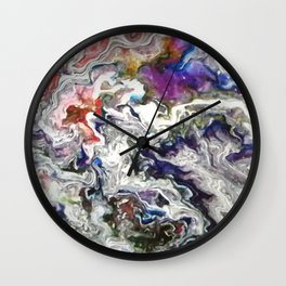 A Colourful World Wall Clock