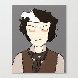 Sweeney Todd-  illustration print Canvas Print