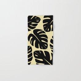 Monstera Leaf Print 2 Hand & Bath Towel
