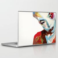 bjork Laptop & iPad Skins featuring Bjork by Zaneta Antosik