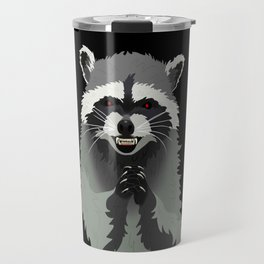Diabolical Racoon Travel Mug