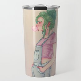 Bubbly Lady Travel Mug