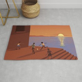 Dreaming the World Cup Rug