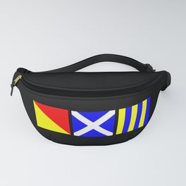 Nautical Flags | OMG Oh My God! Fanny Pack