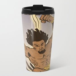 Heracles by Colored Comics Metal Travel Mug