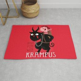 Have fun with Krampus Rug