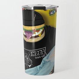 Getter burger head Travel Mug