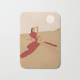 Warm Dune Sand Bath Mat