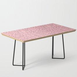 Loops & Curves - Pink Coffee Table