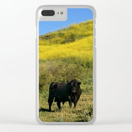 Bull Clear iPhone Case