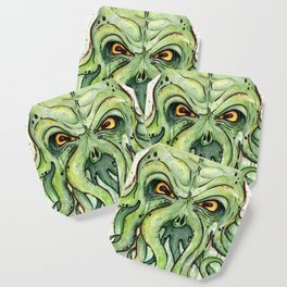 Cthulhu HP Lovecraft Green Monster Tentacles Coaster