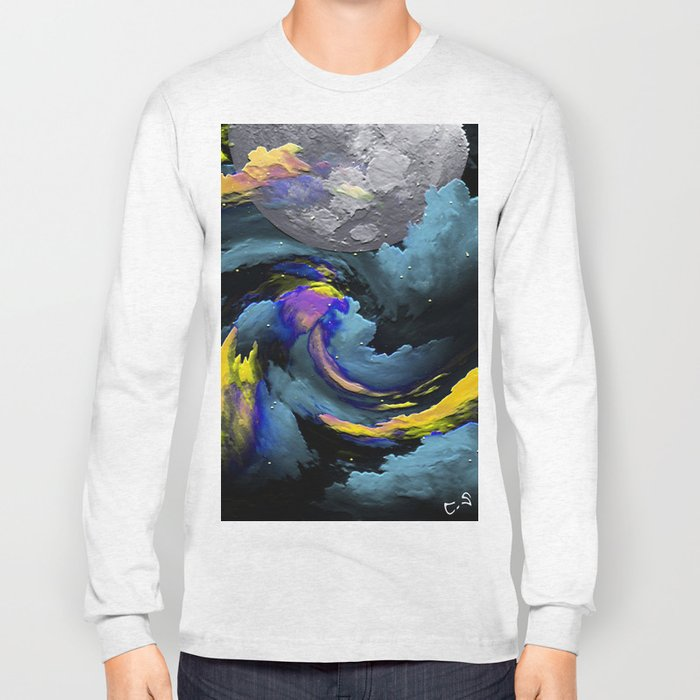 """"""" The energies of the moon """"  Long Sleeve T-shirt"""