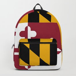 flag of maryland-america,usa,Old Line State,marylander, America in Miniature,Baltimore,Columbia Backpack
