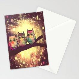 owl-246 Stationery Cards