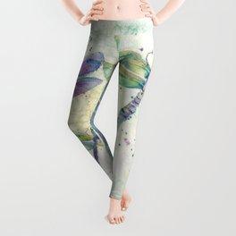 Xena's Dragonfly Leggings