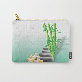 Meditation stones, bamboo and candles Carry-All Pouch