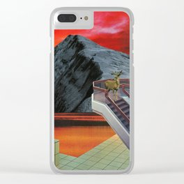 You Showed Me that Silence Clear iPhone Case