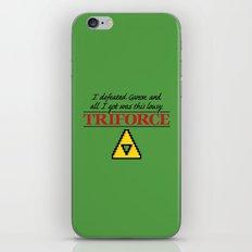 Lousy Triforce iPhone & iPod Skin