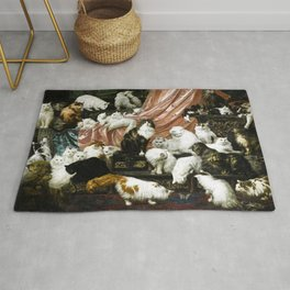 My Wife's Lovers by Carl Kahler Rug