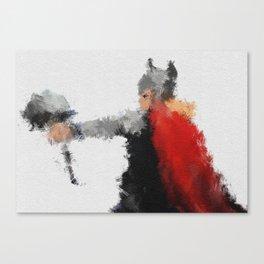 Son of Asgard Canvas Print