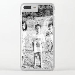 Kids_Borneo Clear iPhone Case