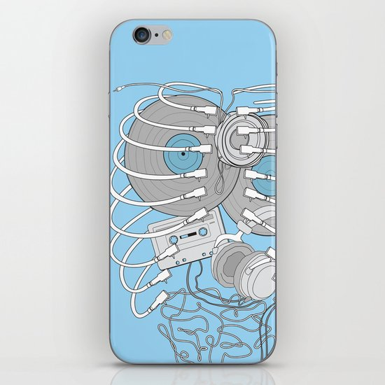 Internal Rhythm iPhone Skin