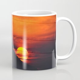 SUNSET OVER MOUNT HOOD Coffee Mug
