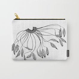 Brazilian Feather Ornament Carry-All Pouch