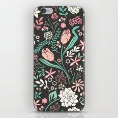 Tulip flowerbed iPhone & iPod Skin