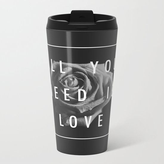 Needy Metal Travel Mug