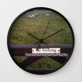 Sheeping Wall Clock