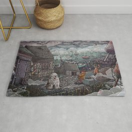 Home for the Harbor Rug