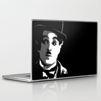 charlie Laptop & iPad Skins featuring Charlie by DRMdesign
