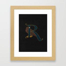 Of Wit & Learning Framed Art Print