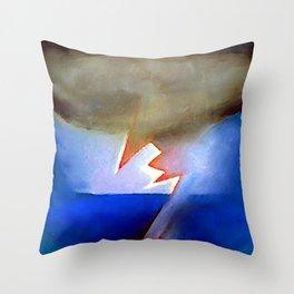 Georgia O Keeffe Storm Throw Pillow