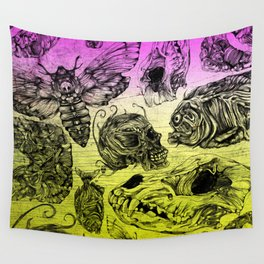 Bones and color Wall Tapestry